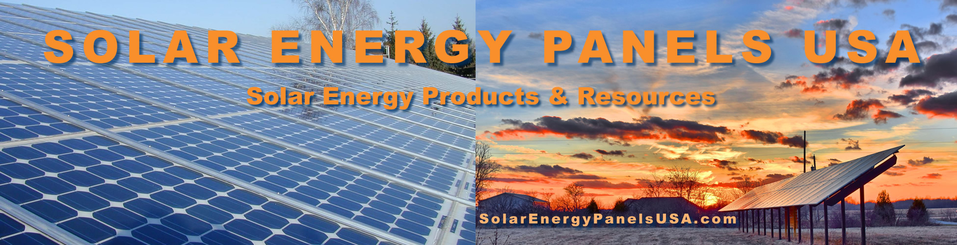 Solar Energy Panels USA