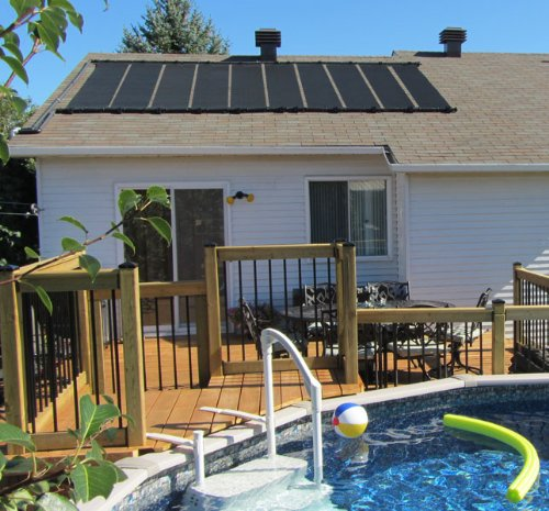 10 2x12 Sunquest Solar Swimming Pool Heater Complete System With Roof Kits Solar