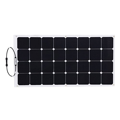 Hqst 100 Watt 12 Volt Monocrystalline Flexible Solar Panel