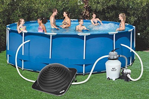 New for 2016 game 4714 solarpro contour solar pool heater - Solar powered swimming pool heater ...