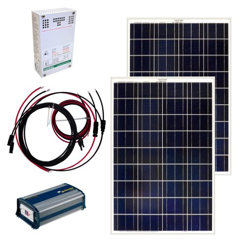 Grape Solar Gs 200 Kit 200 Watt Off Grid Solar Panel Kit