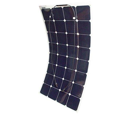100 Watt Flexible Solar Panel 12v Mono Crystalline Grade A