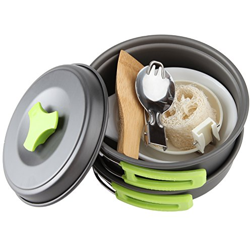 Camping Cookware Mess Kit Backpacking Gear Amp Hiking