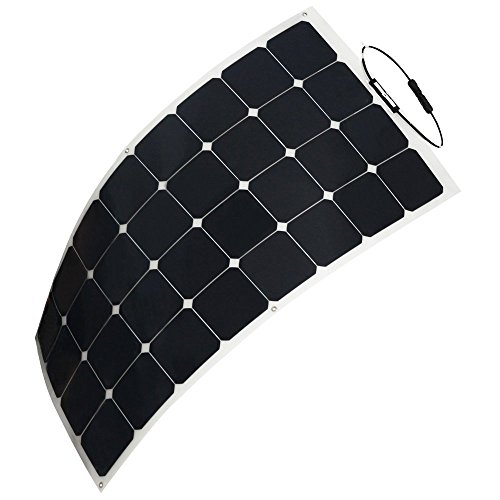 Hqst 100 Watt 12 Volt Monocrystalline Flexible Solar Panel